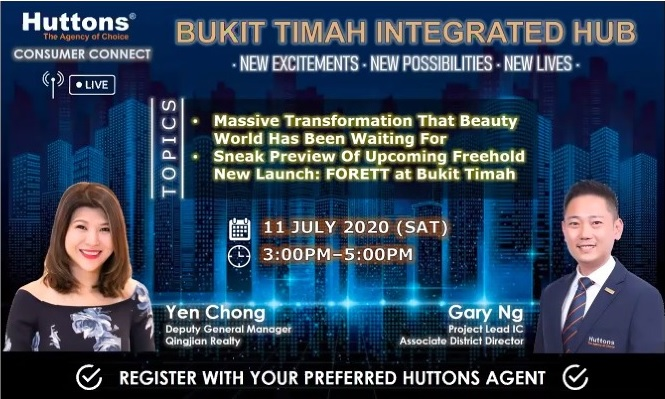 Huttons Consumer Connect - Bt Timah Integrated Hub (Forett)