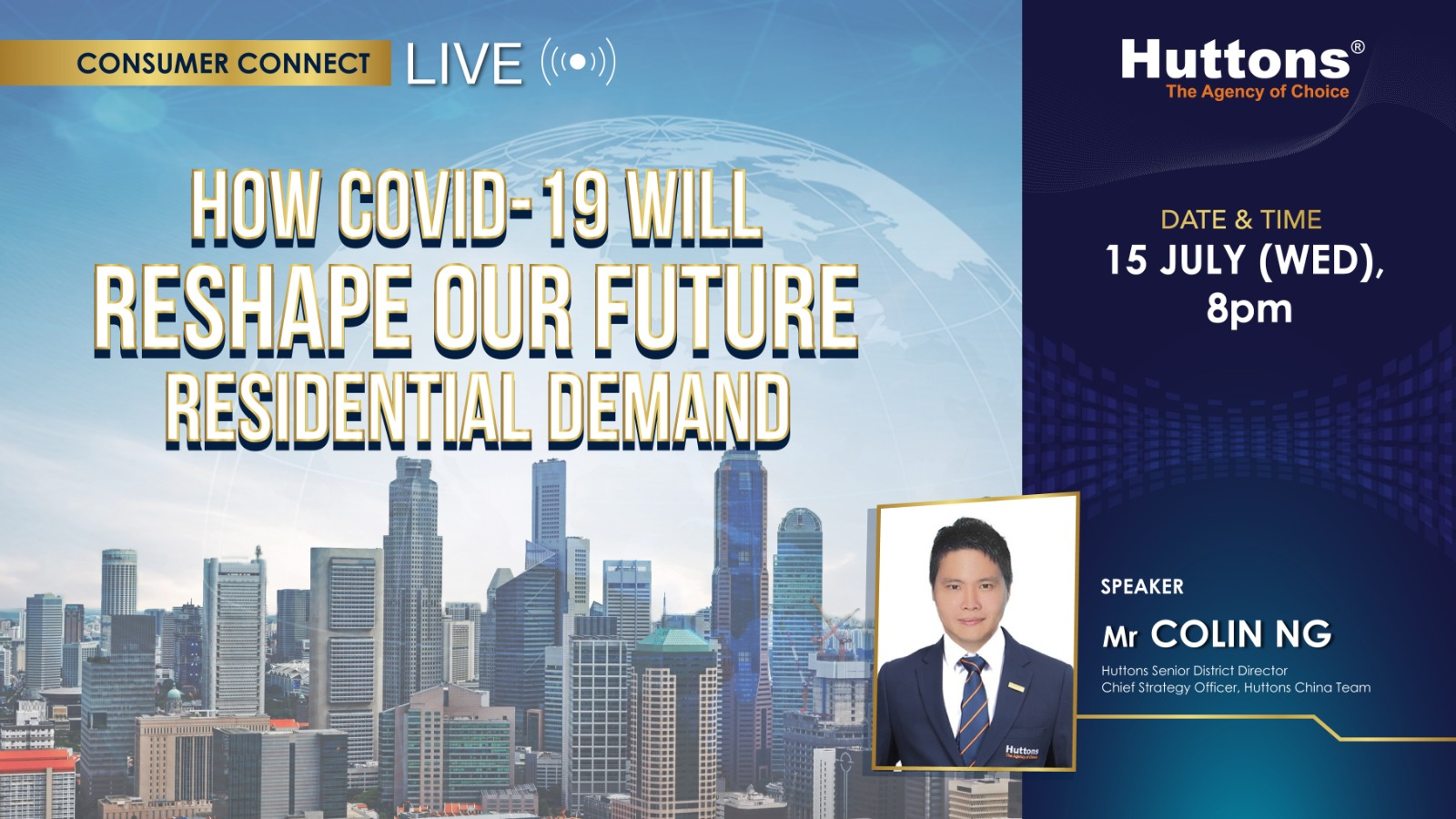 Huttons Consumer Connect - How Covid-19 will Reshape our Future Residential Demand