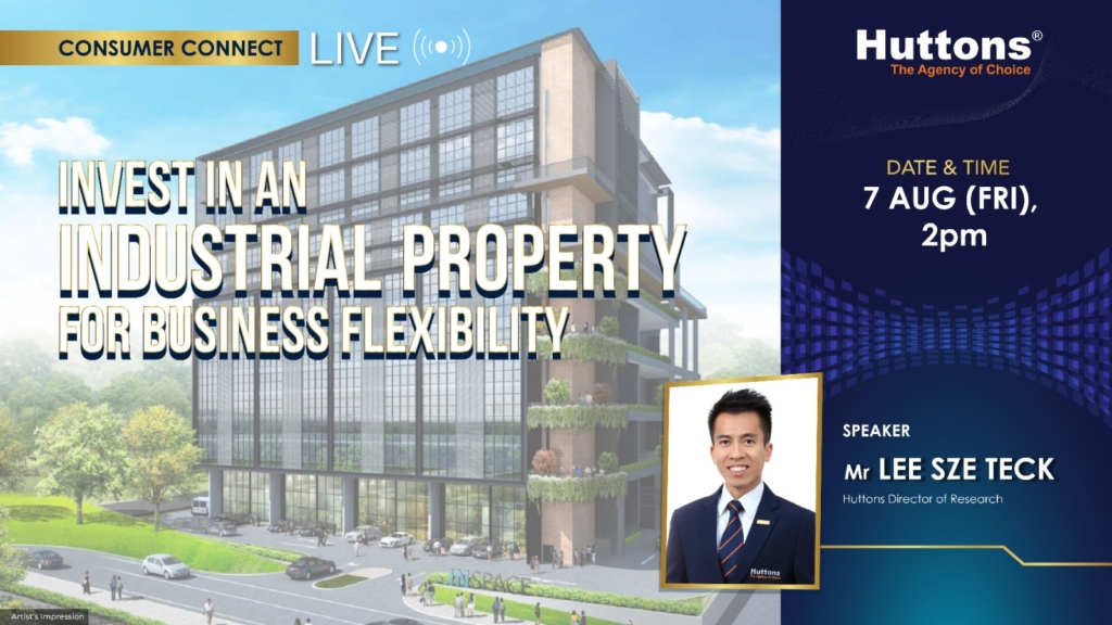 Huttons Consumer Connect - Invest in an Industrial Property for Business Flexibility