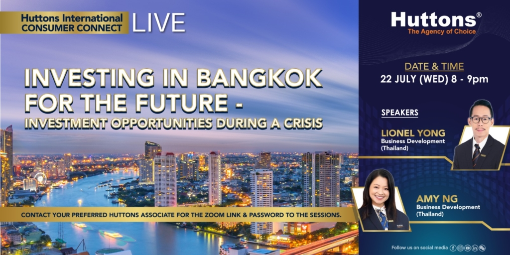 Huttons International Consumer Connect - Investing in Bangkok for the Future