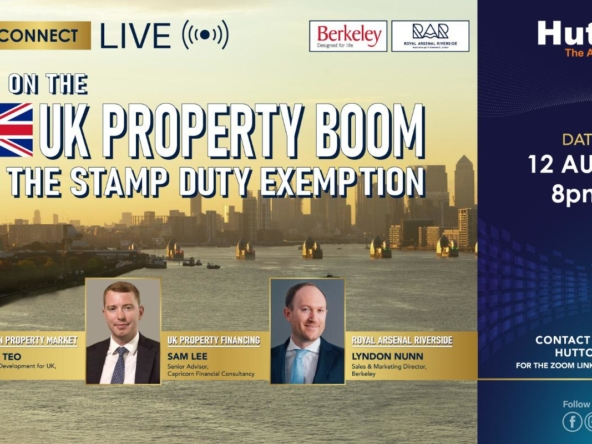 Huttons International Consumer Connect - Riding on the UK Property Boom