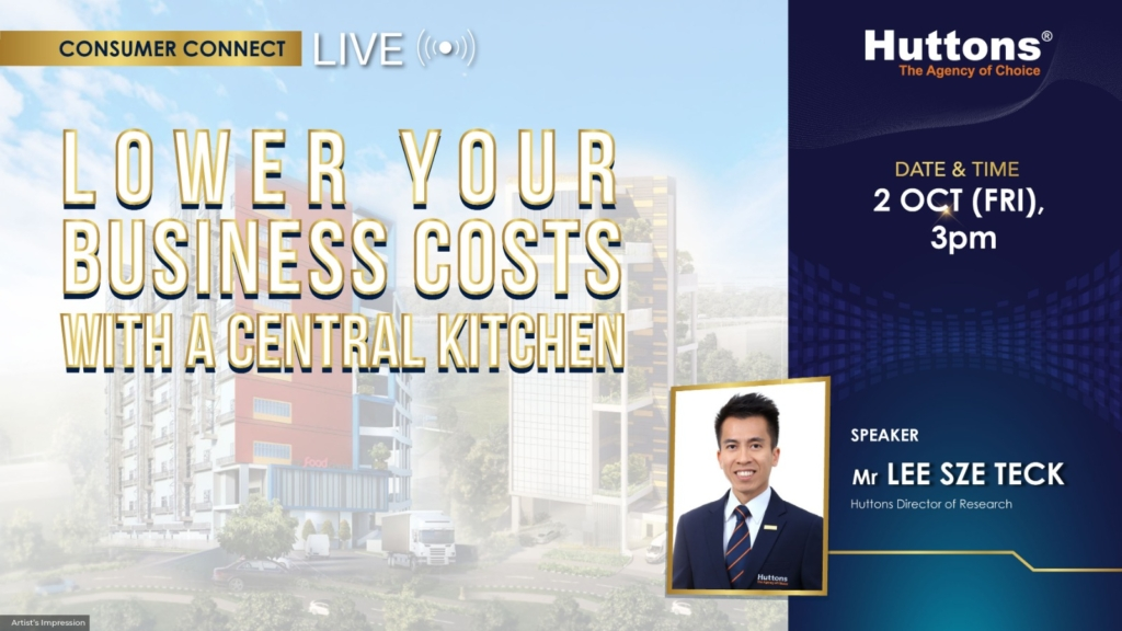 Huttons Consumer Connect - Lower Your Businesss Costs with a Central Kitchen