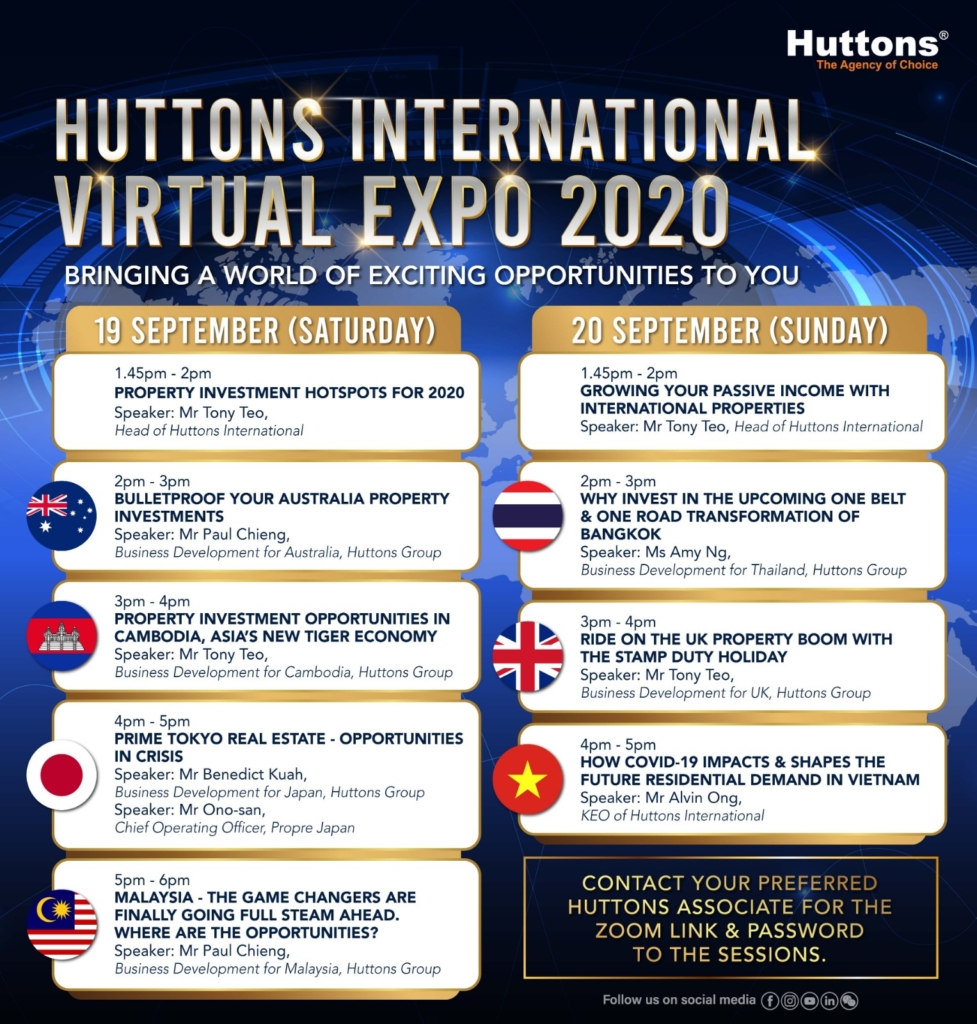 Huttons International Virtual Expo 2020