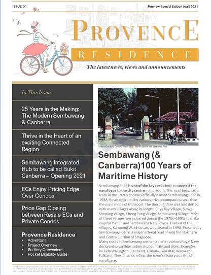 Provence News Issue 1