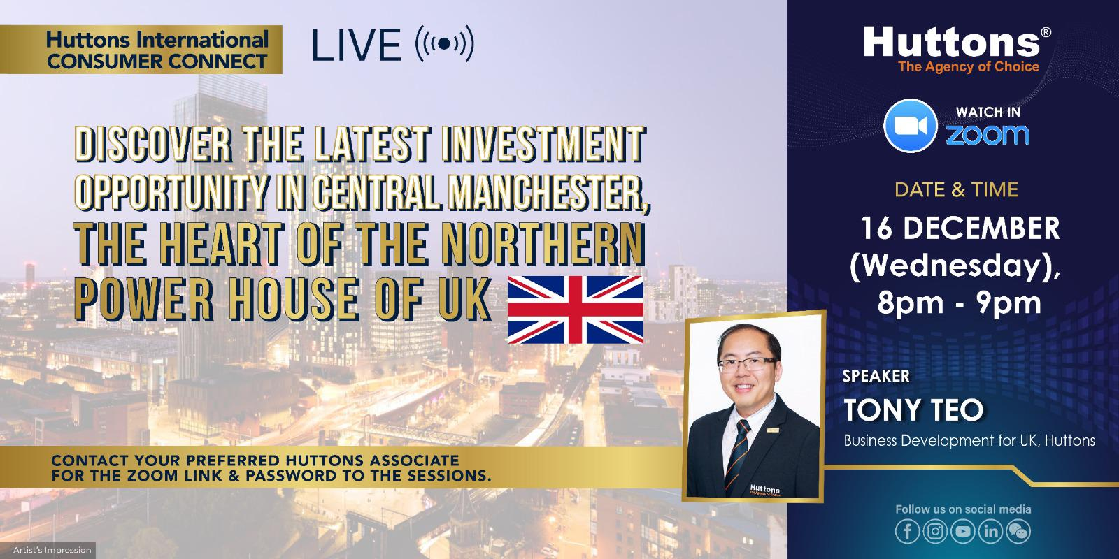 Huttons International Consumer Connect - Manchester (The Viadux)