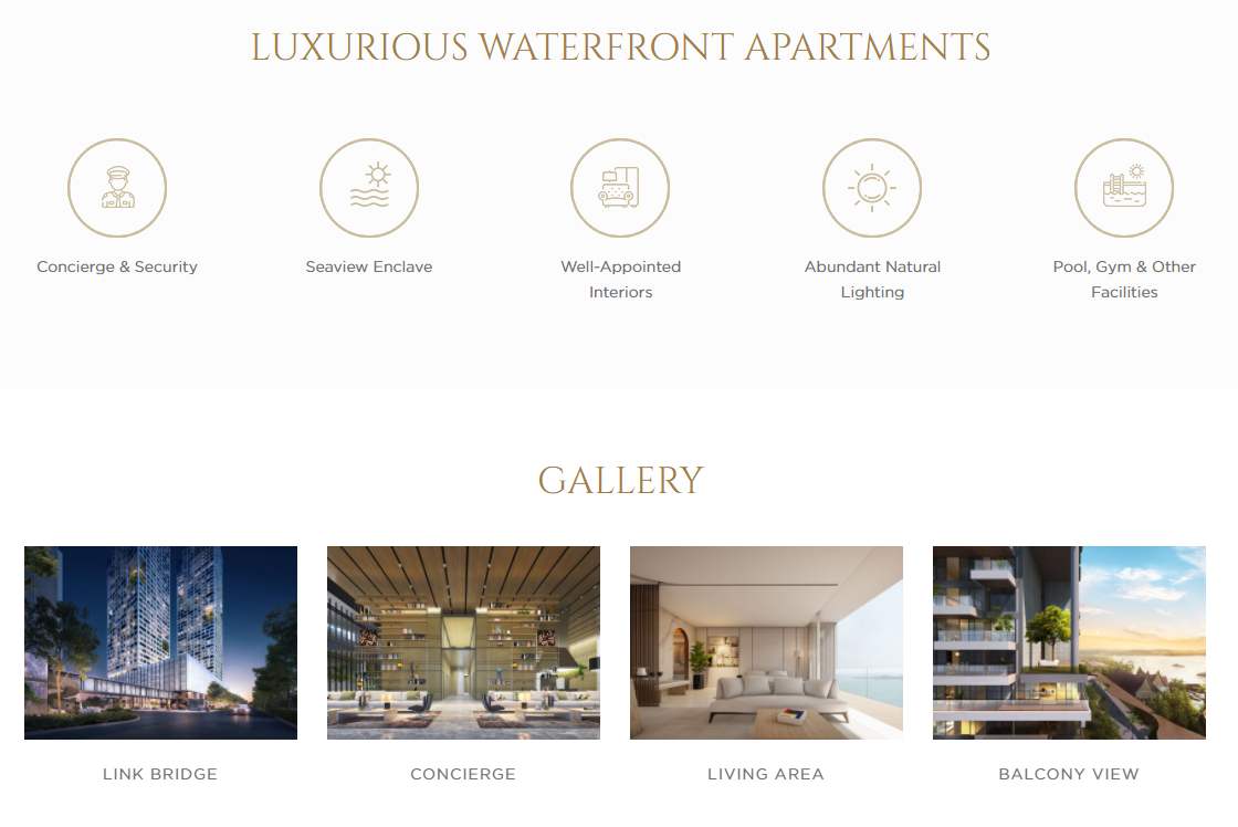 Opus Bay Balmoral Tower Features