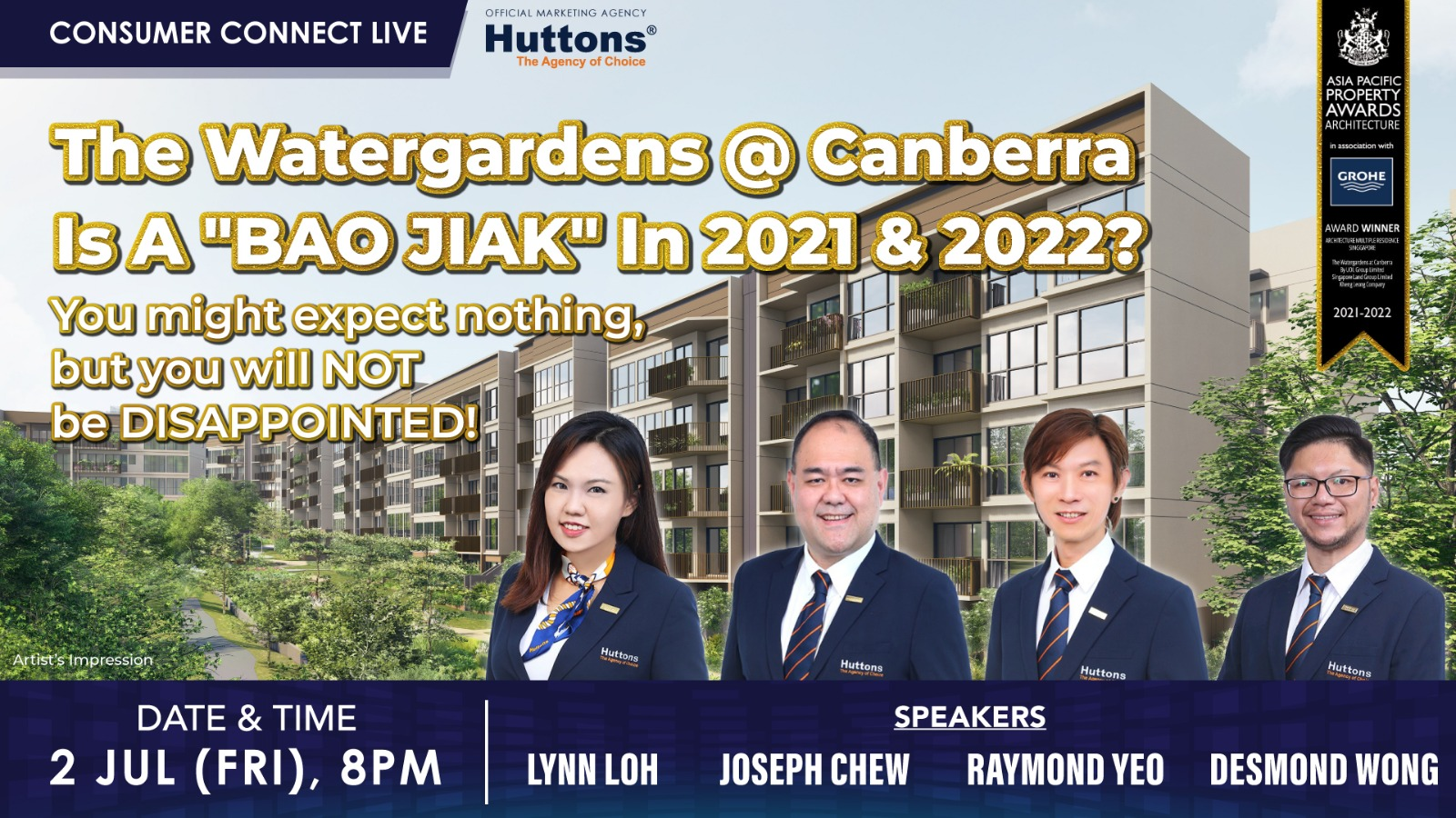 Huttons Consumer Connect - The Watergardens @ Canberra Is A Bao Jiak in 2021 & 2022