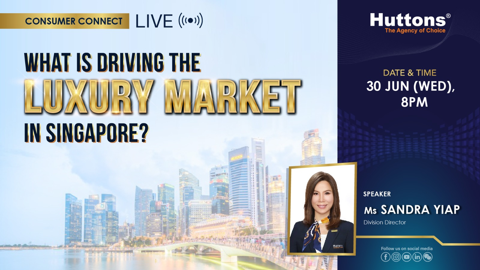 Huttons Consumer Connect - What is Driving the Luxury Market in Singapore