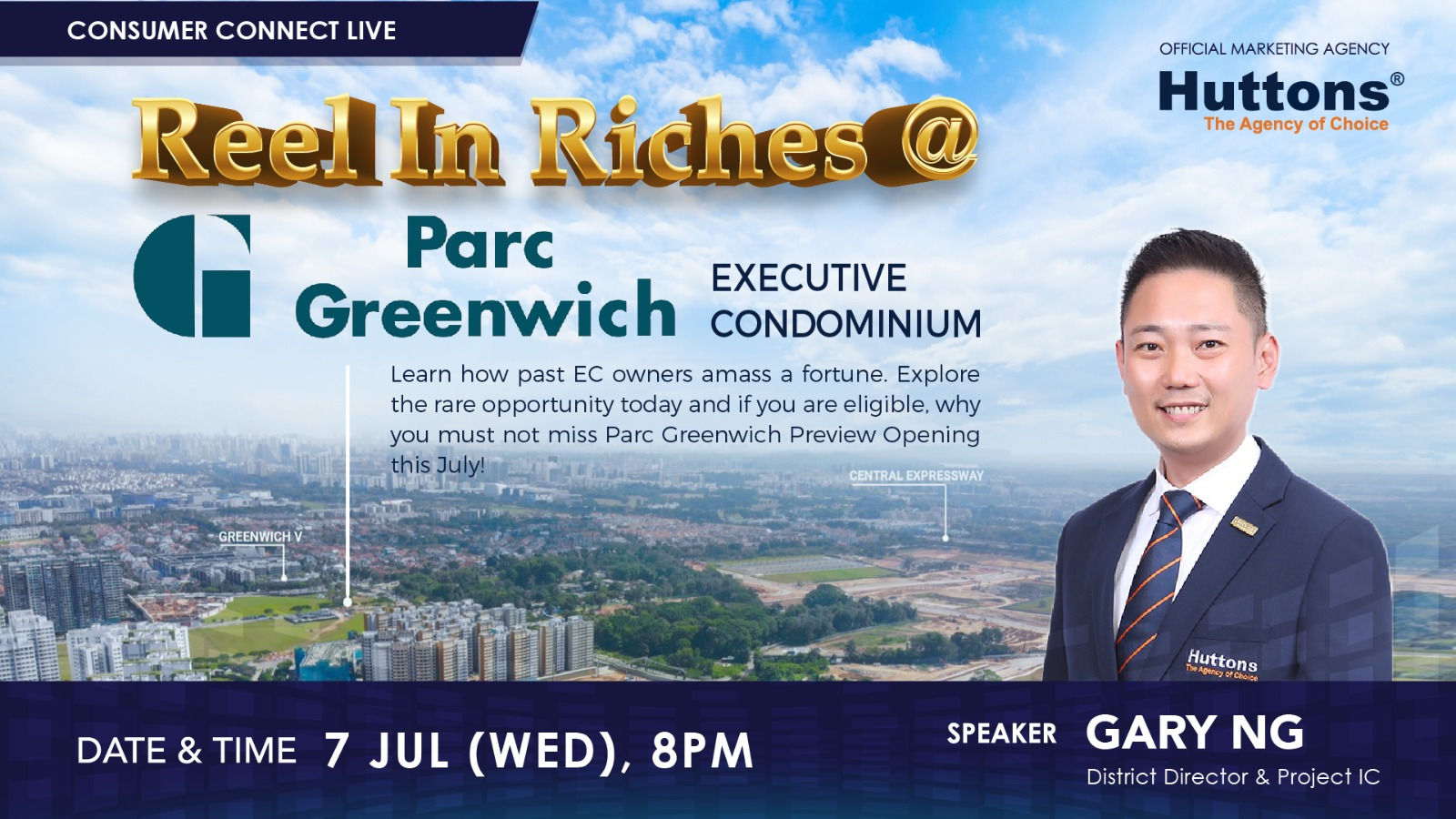 Huttons Consumer Connect - Reel in Riches @ Parc Greenwich (Executive Condominium)