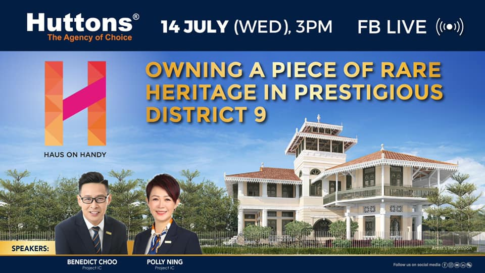Huttons FaceBook Live - Owning a Piece of Rare Heritage In Prestigious District 9
