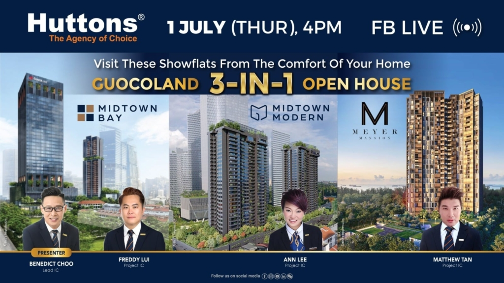 Huttons Facebook Live - Guocoland 3 in 1 Open House