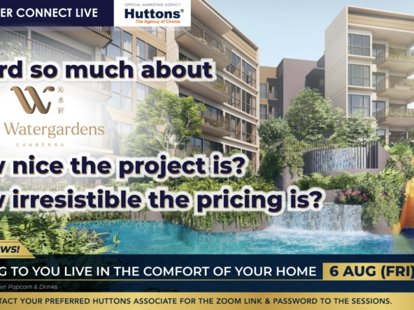 Huttons Consumer Connect - The Watergardens @ Canberra